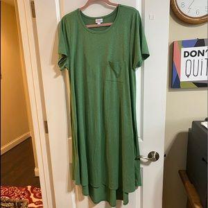 LuLaRoe Carly dress Sz XL NWOT